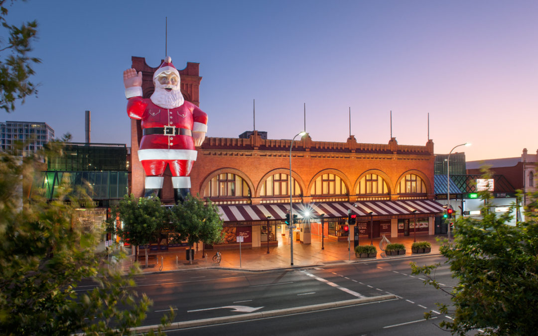 The magic of Christmas in Our Market!
