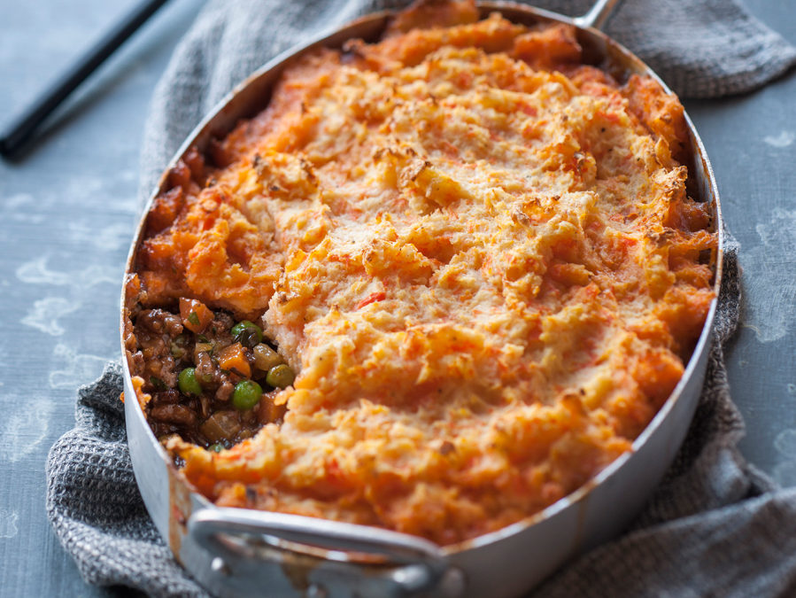 Shepherd's Pie with Three Root Mash