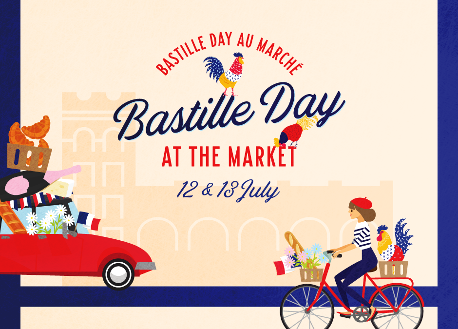 Bastille Day at the Market