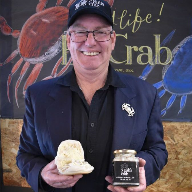Welcome our Producer in Residence: Two Gulfs Crabs