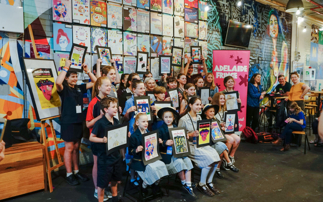 Adelaide Fringe Schools Poster Competition