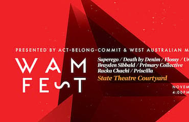 2 SuperEgo, Death by Denim + MORE at STC for WAMFest (Perth)