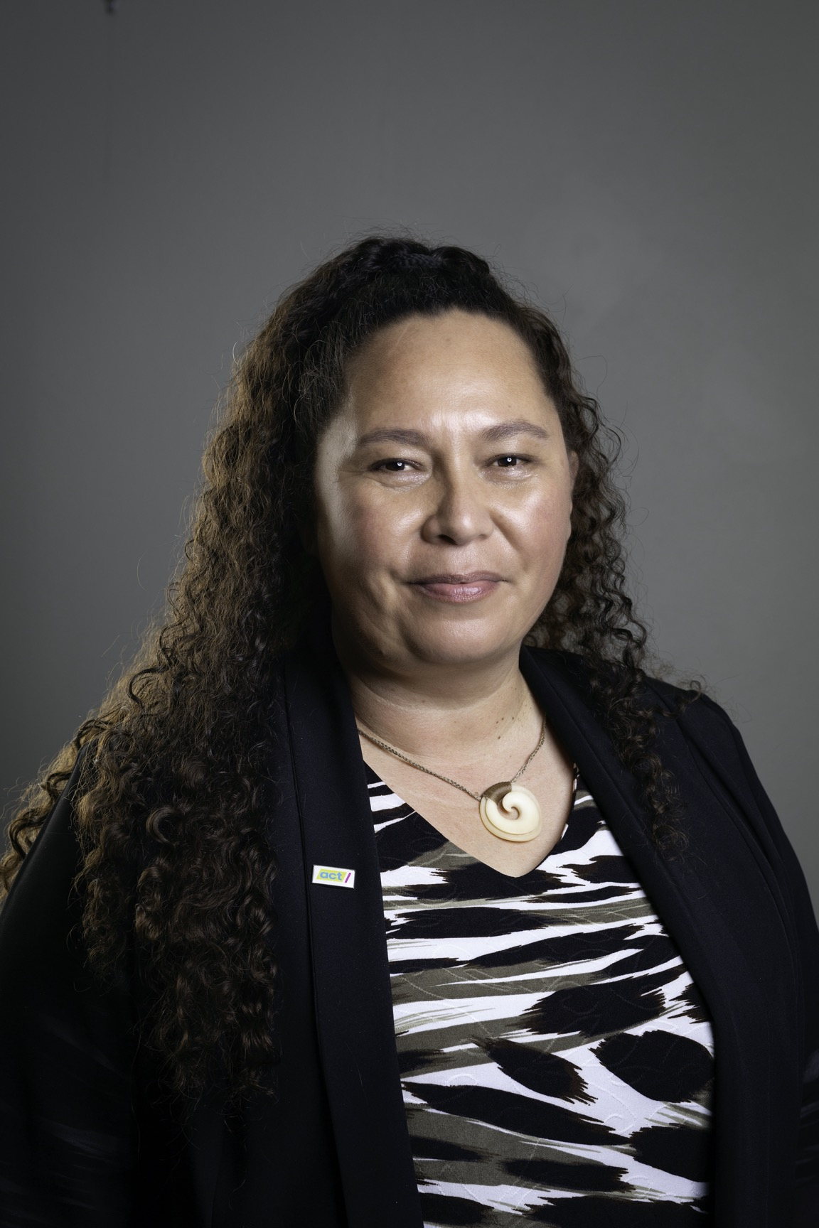 Nicole McKee, ACT Candidate for Rongotai