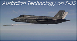 Australian technology on the F-35 Joint Strike Fighter