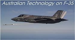 Australian technology on the F-35 Joint Strike Fighter
