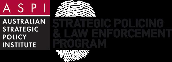 Strategic Policing Program White logo