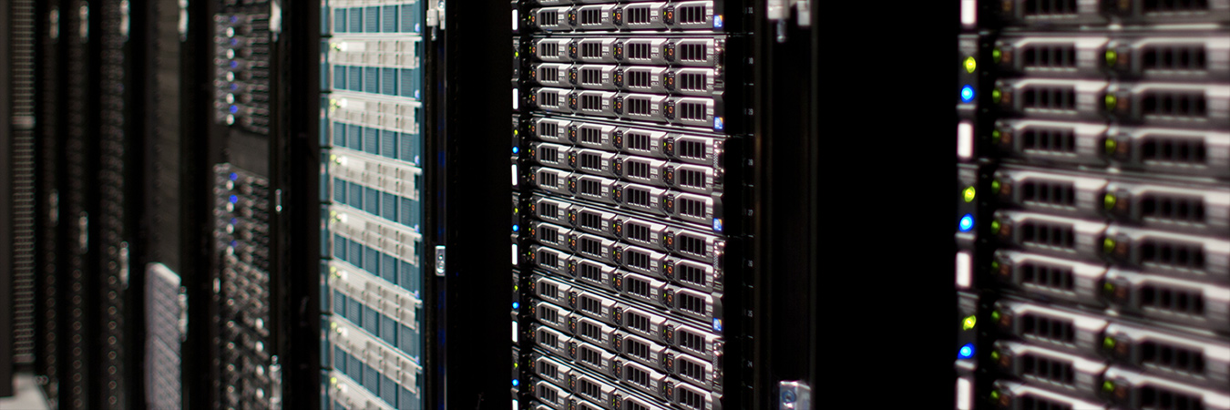 Image: Wikimedia 'Servers at Ashburn datacentre'