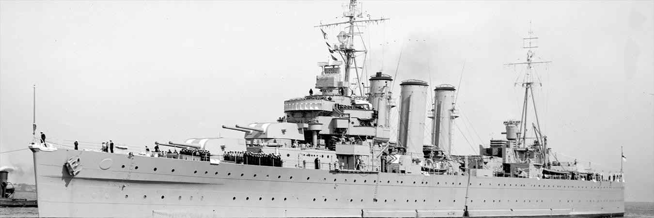 HMAS Australia 1953