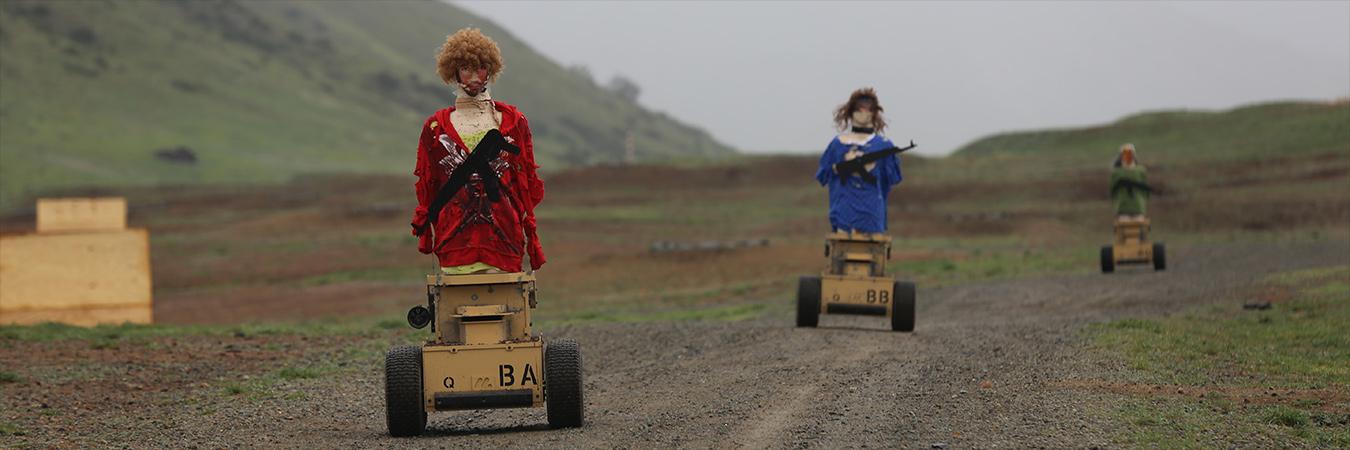 Robot targets. Image: US DoD