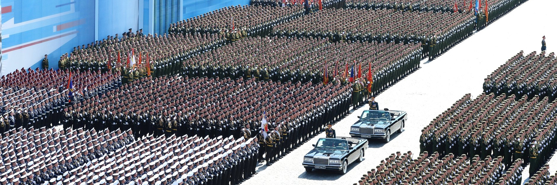 Russia Victory Day parade. Image: Wikimedia