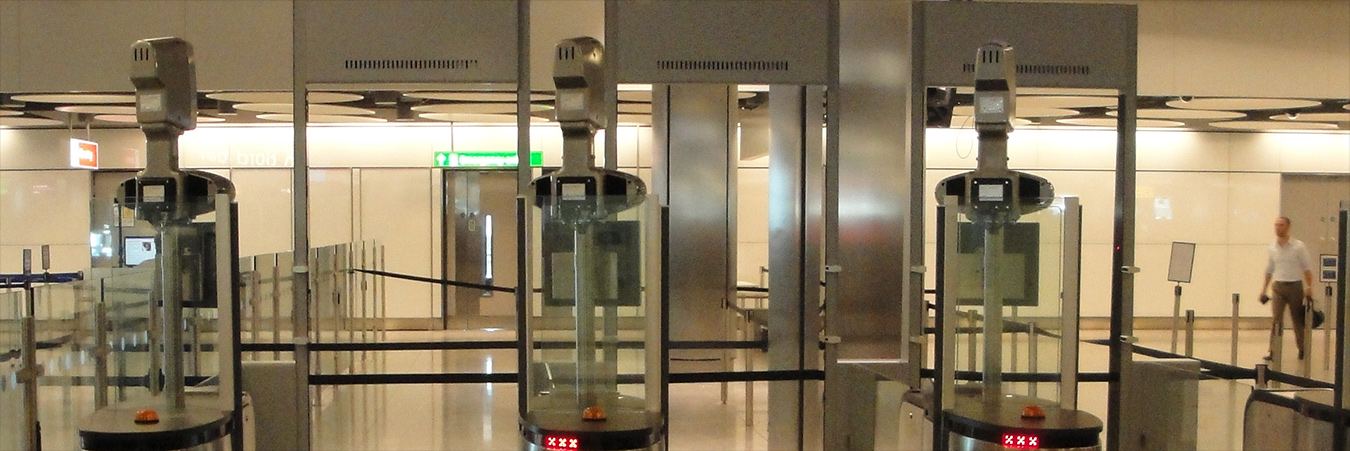 Biometric Scanners - Heathrow Airport