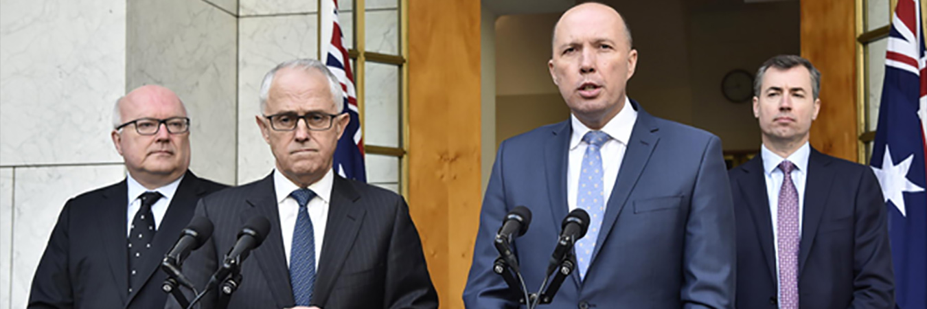 Turnbull - Home Affairs announcement