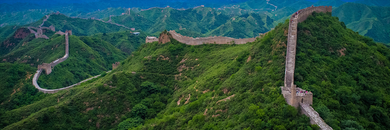 Great Wall of China. Image: Wikimedia