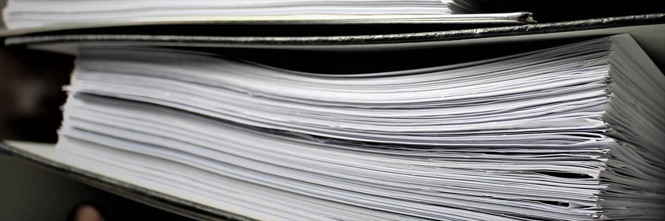 Paperwork. Image: Pexels.