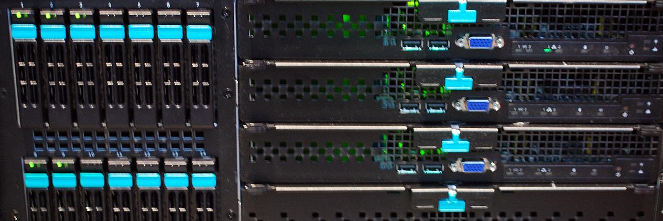Server Rack. Image: Wikimedia.