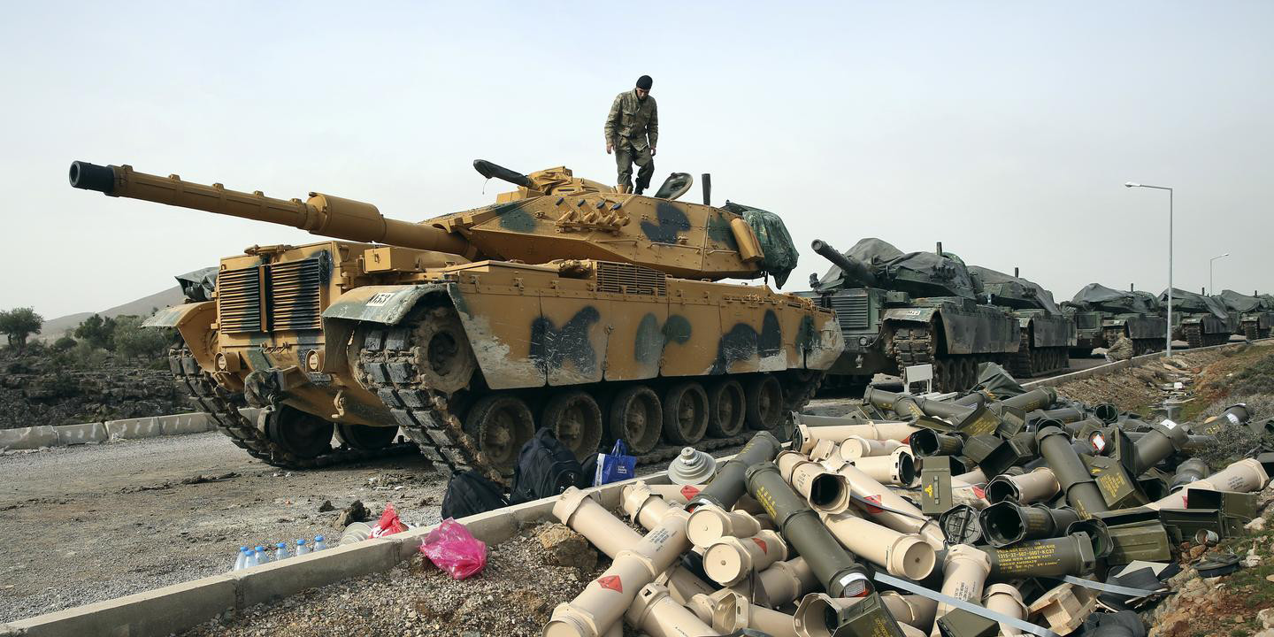 Turkey's military operation against Kurdish fighters in Syria