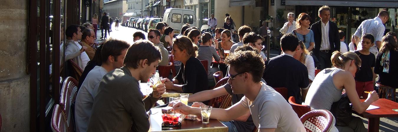 Cafe. Image: Wikimedia.