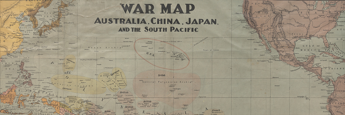 Australia China War Map