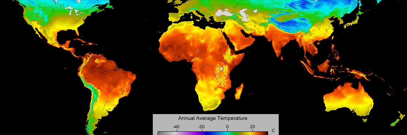 World Map - Temperature
