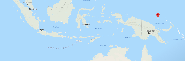 Manus Island map