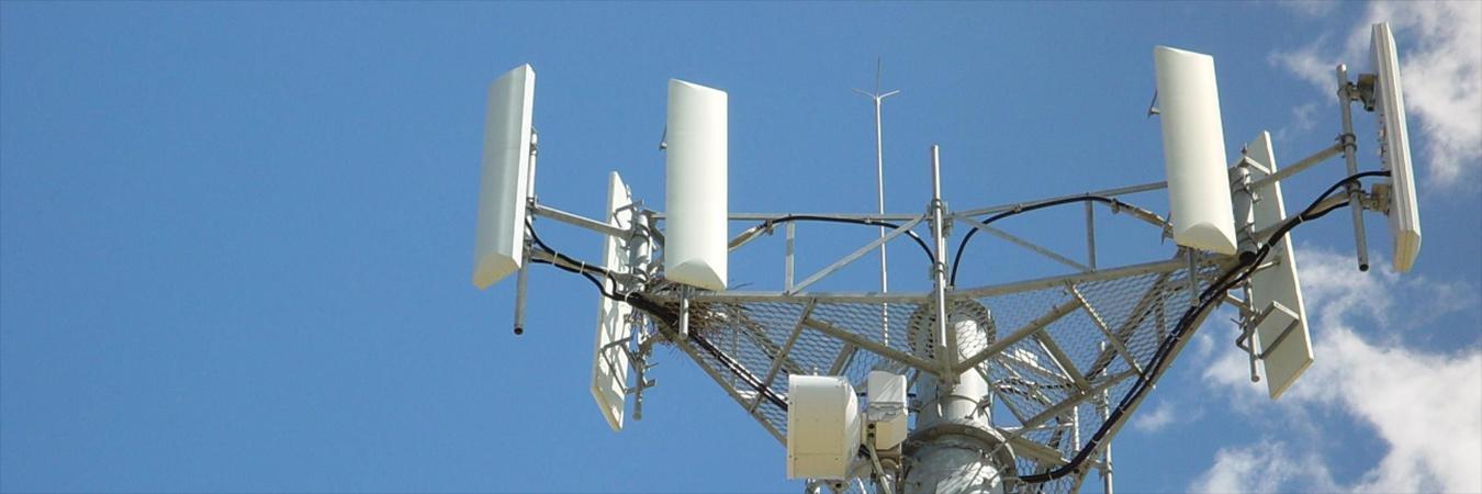 Phone tower antenna