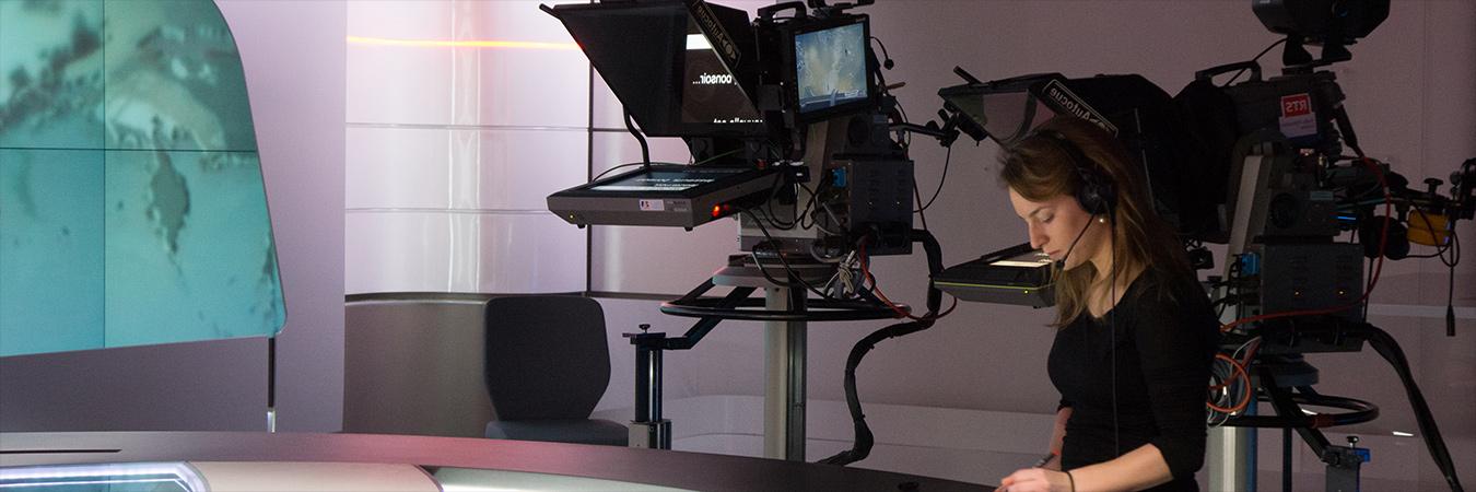 TV Studio banner