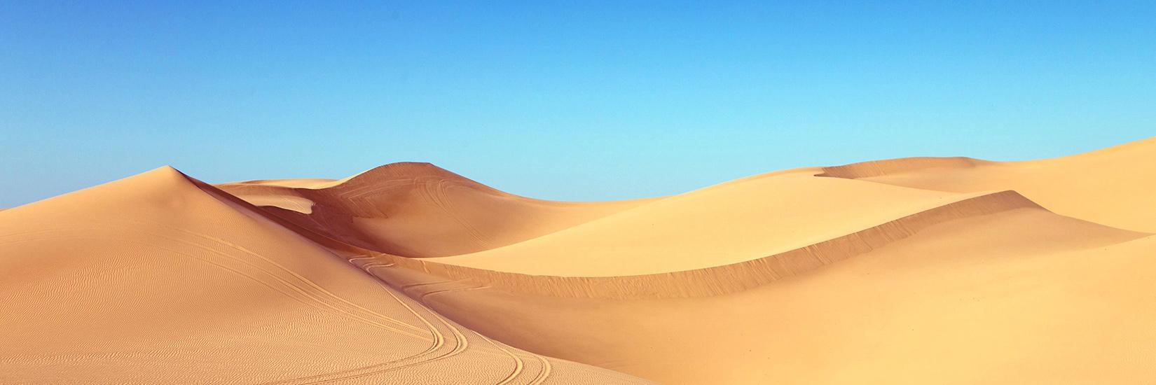 Desert - sand dunes
