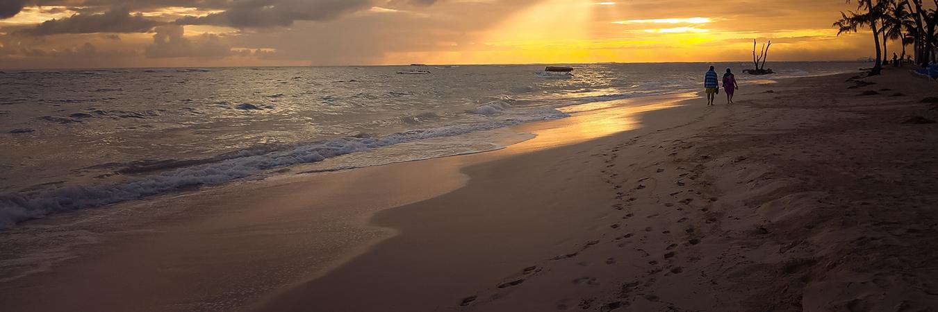 Pacific Island beach