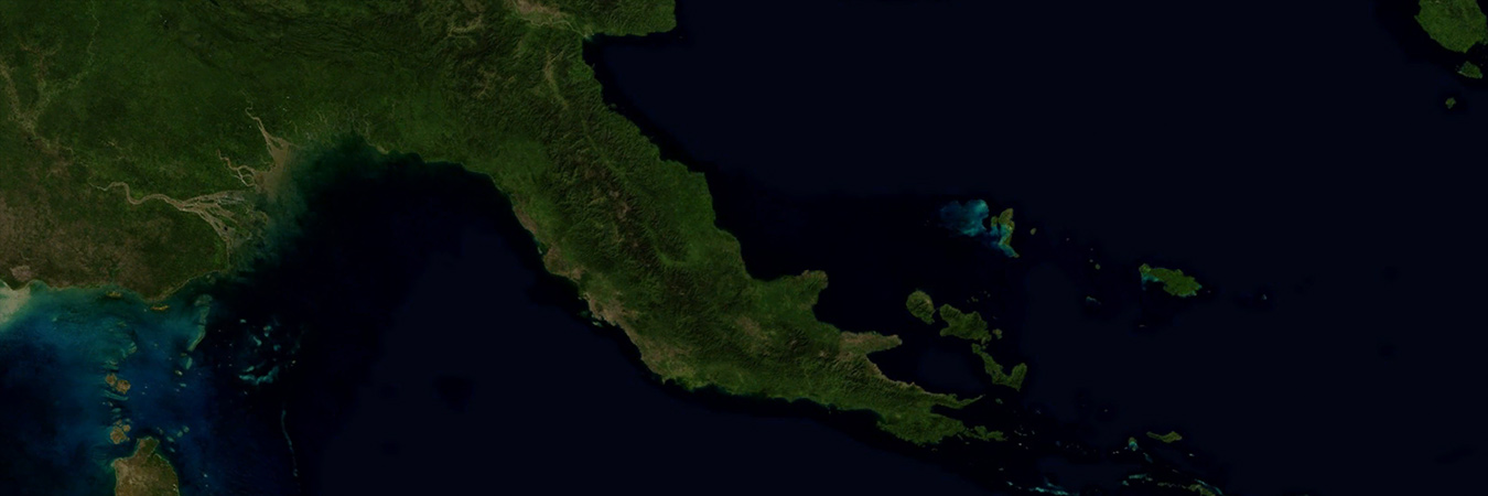 PNG from space