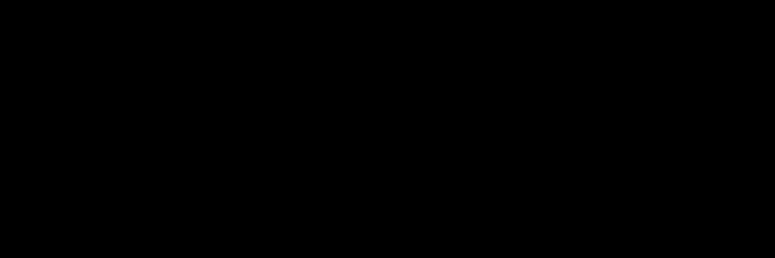 Plain black banner