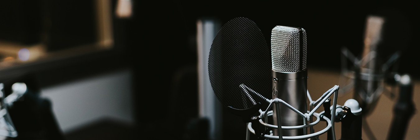 Podcast Microphone - banner
