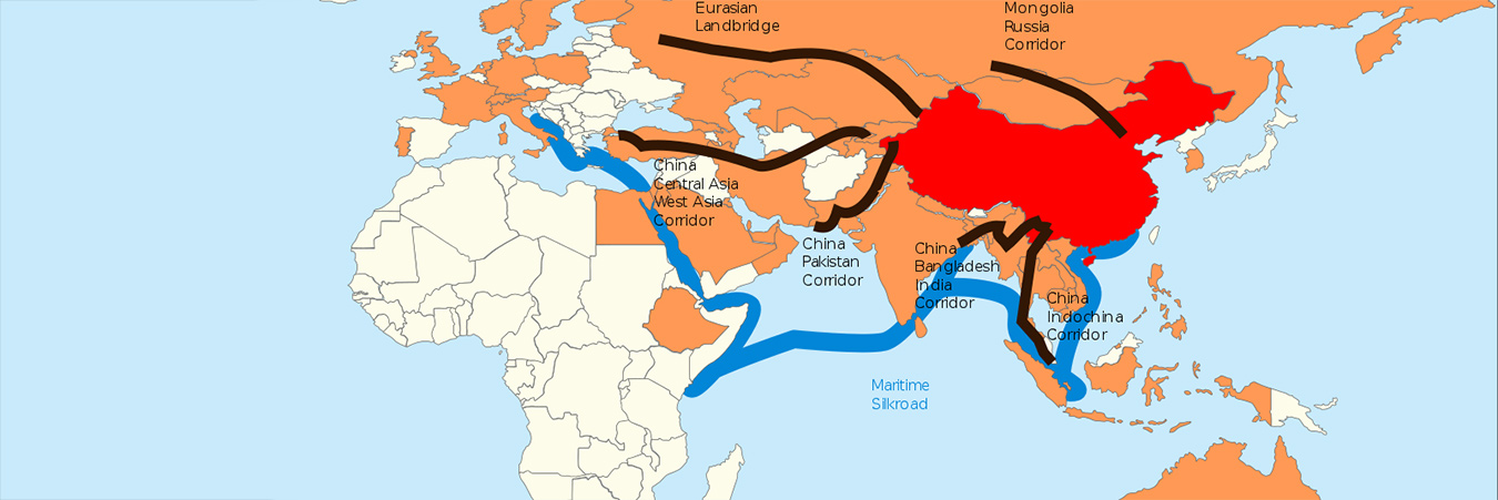 Belt and Road map