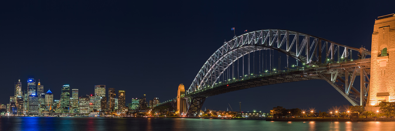 Sydney Harbour Bridge - night