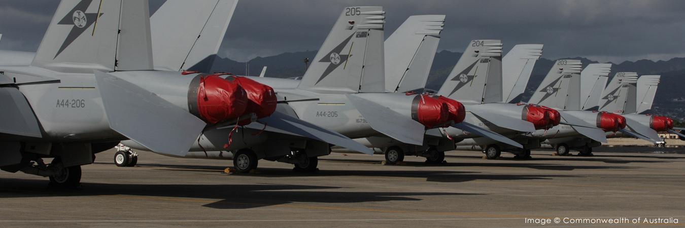 RAAF Super Hornets Feb2020