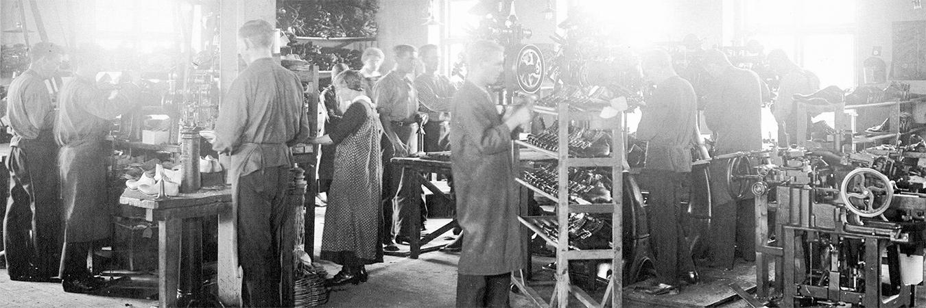 Shoe Factory - 1920s
