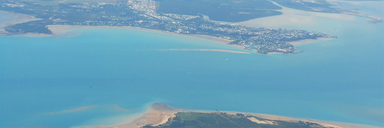 Darwin port - from air