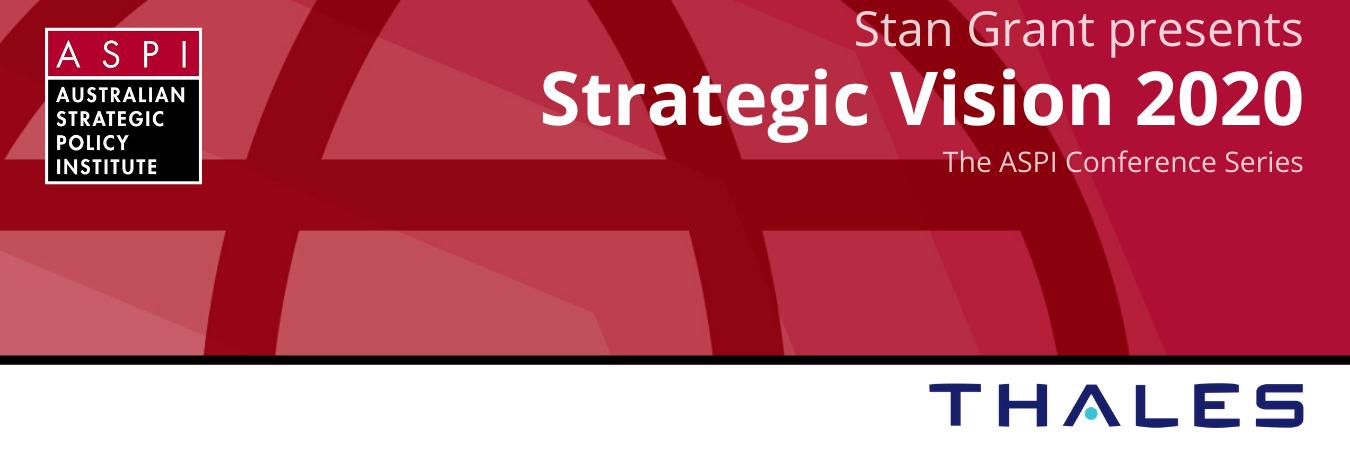 Strategic vision Conference Banner