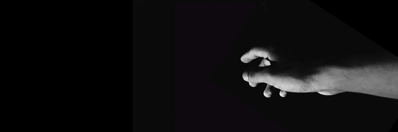 Hand reaching