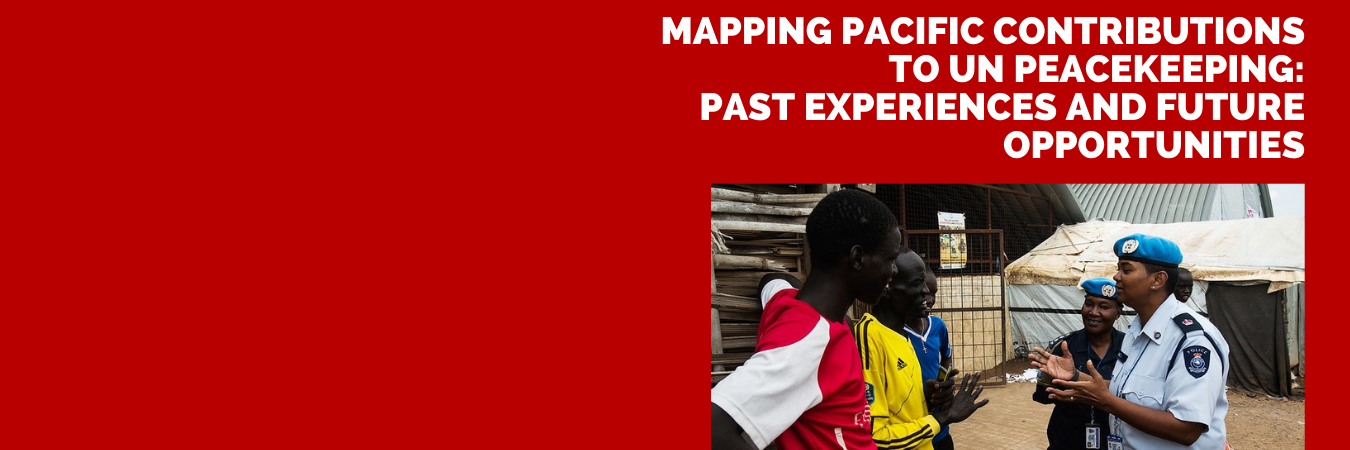 Mapping Pacific Contributions to UN Peacekeeping