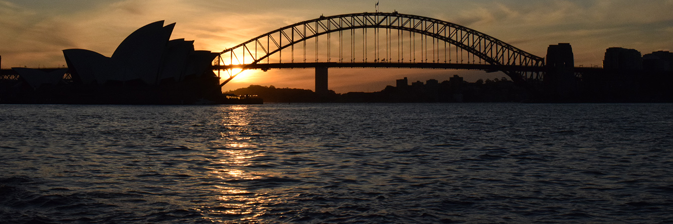 Sydney image: Wikimedia. https://commons.wikimedia.org/wiki/File:Harbour_Bridge_and_Opera_House.jpg