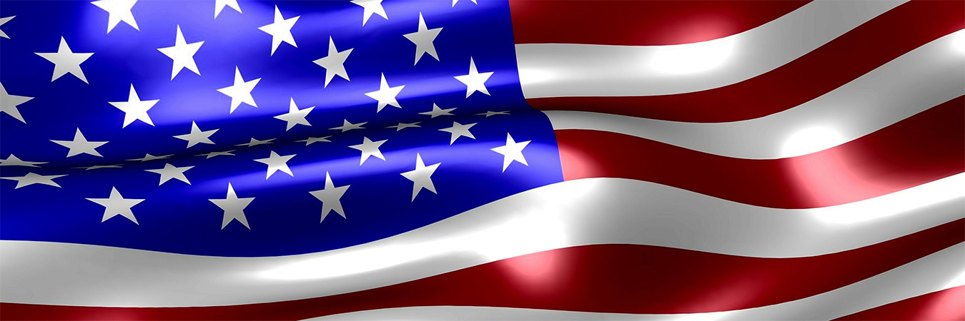 USA Flag banner - June2021