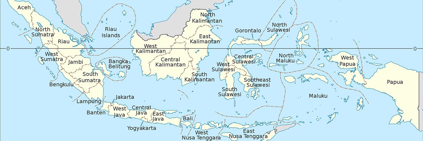 Indonesia map Jul2021