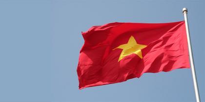 Vietnam flag 20200507