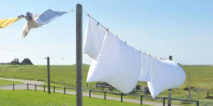 Washing on Line. via WikiMedia. https://commons.wikimedia.org/wiki/File:Hallig_Hooge,_Germany,_view_from_the_Backenswarft.jpg