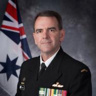 Captain Paul Scott, RAN