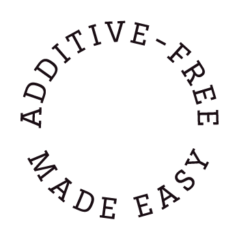how to live additive free