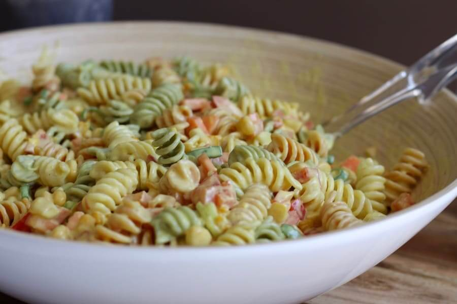 Creamy Pasta Salad Additive Free Lifestyle