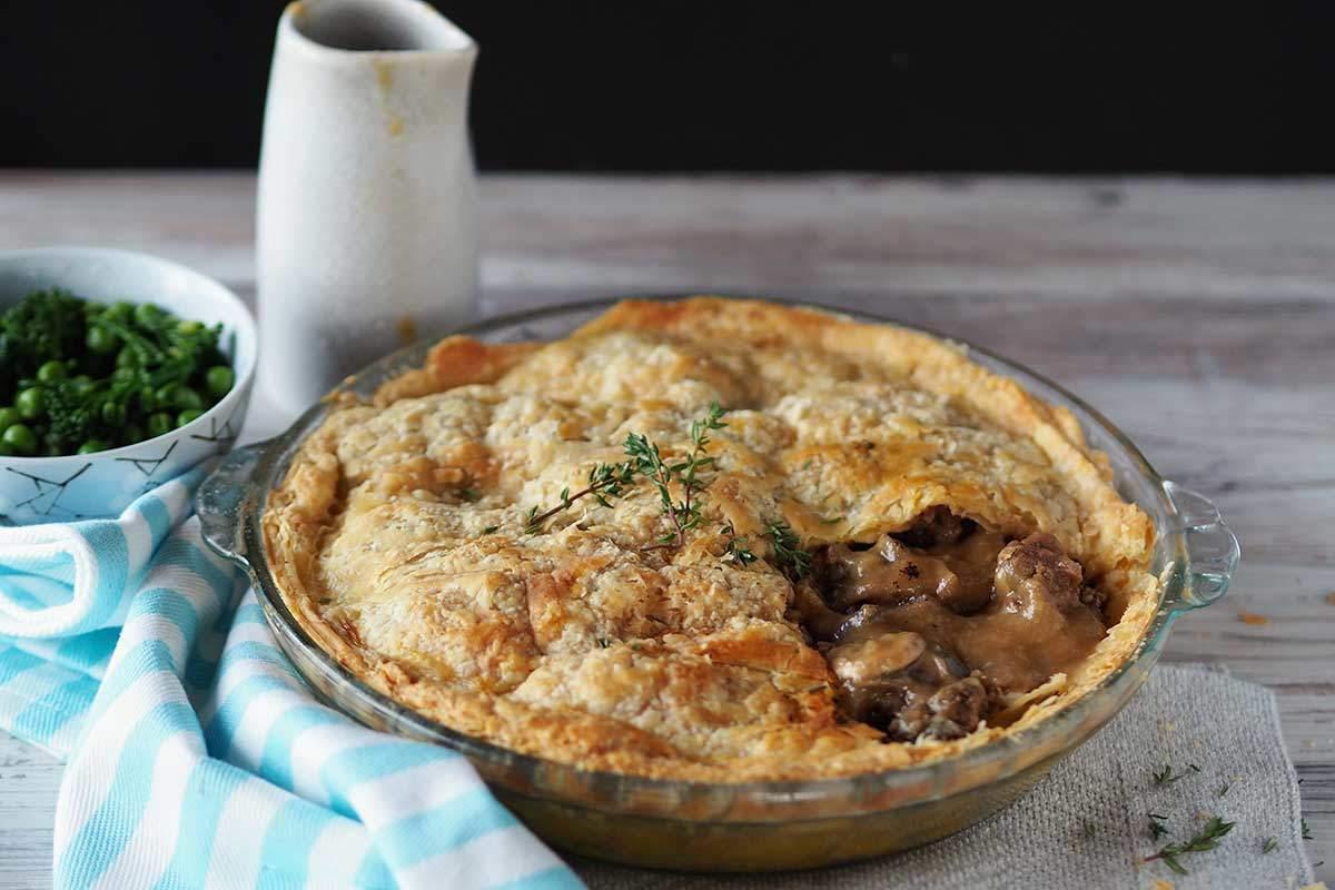 Steak and Mushroom Pie (with added collagen) » Additive ...