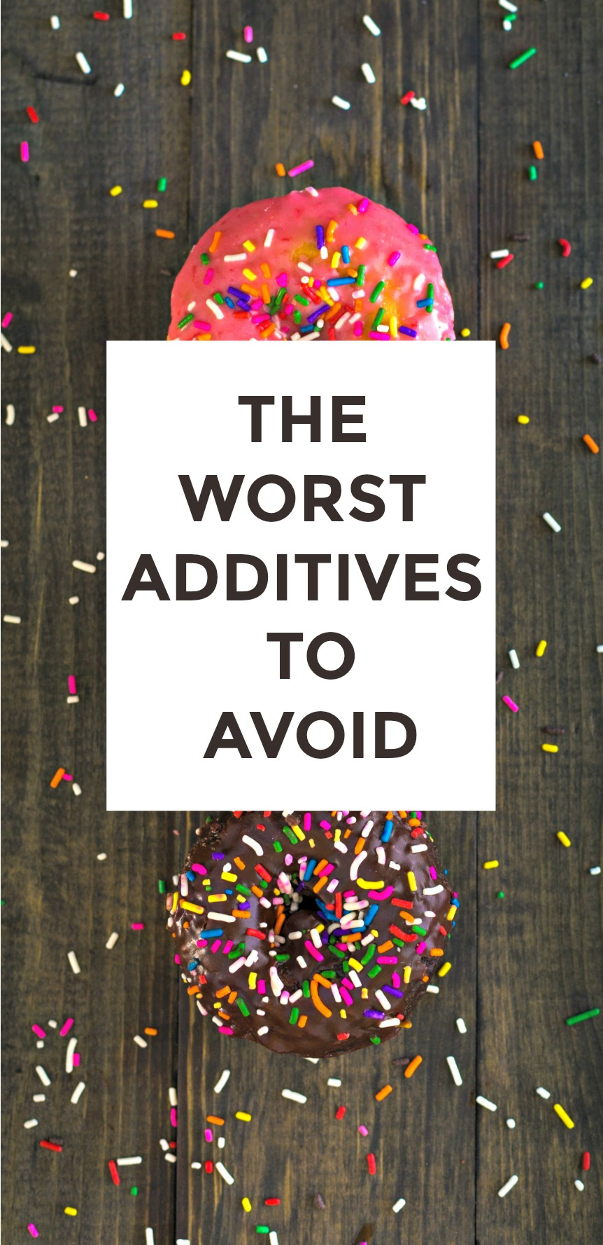 Top Additives To Avoid