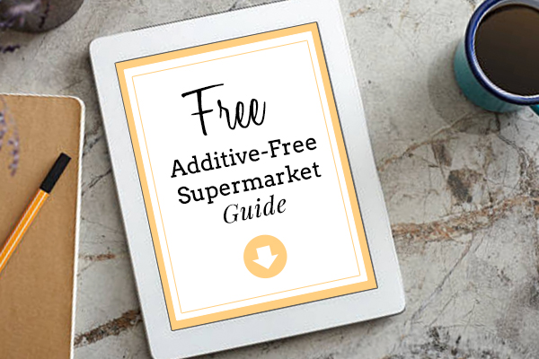 Download the Additive-Free Shopping Guide